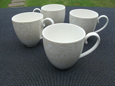£19.99 • Buy 4 Denby Monsoon Lucille Coffee Mugs. Gold.