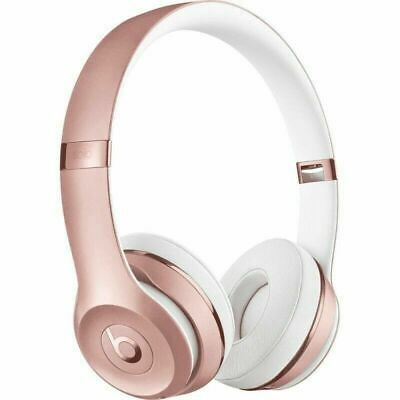 $ CDN154.05 • Buy Beats By Dr. Dre Solo3 Wireless Headphones - ROSE GOLD-Brand New & Sealed