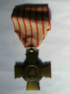 £14.99 • Buy Great War WWI French Medal Military Combatants Cross 1914 1918 1A