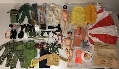 $ CDN130.29 • Buy Vintage GI Joe Early Accessories / Clothes Including UNOPENED SCUBA & RAFT -MINT