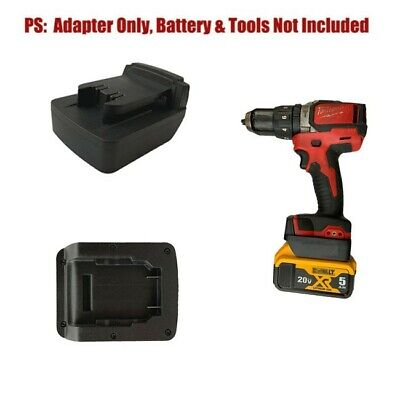 £20.76 • Buy Replacement Adapter Conversion Convert To Milwaukee Drill Li-Ion Battery