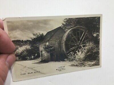 $4.99 • Buy THE OLD MILL RPPC 1931 CLINE Photo Chattanooga Kingston TN Tennessee