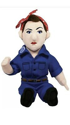 £9.37 • Buy Rosie The Riveter Soft Toy - 11 Inch Plush Little Thinkers Doll