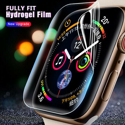 $ CDN1.71 • Buy Full Screen Protector Clear 9D Tempered IWatch For Apple Watch Series 4 3 2 1