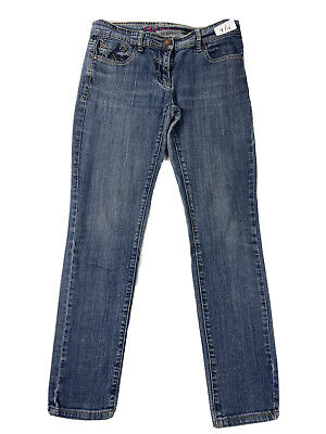 £9.99 • Buy Next Relaxed Skinny Jeans Blue Size 10R Women W28 In   L28 In. 99% Cotton