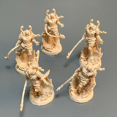 AU6.54 • Buy Lot 5 Monster Miniatures For Dungeons & Dragon Board DND Figure Game Toy Gift #8