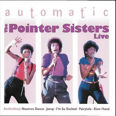 £2 • Buy Automatic The Pointer Sisters Live! (2005)