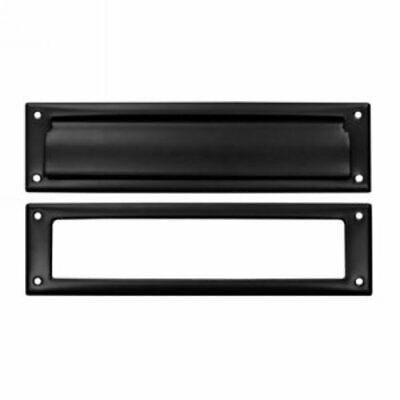 $56.34 • Buy Deltana MS211 Black 13-1/8  X 3-5/8  Solid Brass Mail Slot