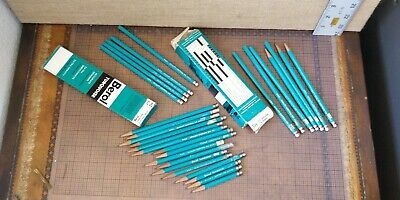 £10.17 • Buy Vintage -- Berol Turquoise -- Lot Of 28 Drawing Pencils -- Made In USA