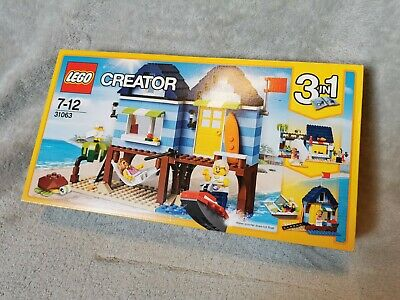 £20 • Buy Lego 31063 Creator 3-in-1 Beachside Vacation Used Complete