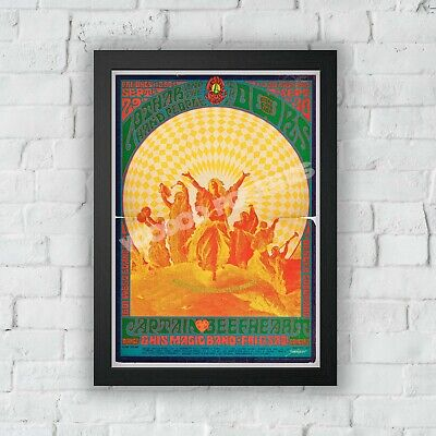 $37.99 • Buy The Doors - Psychedelic Concert Poster 03 - Print - Vintage Style Magazine Retro