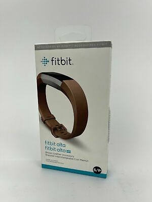 $ CDN33.59 • Buy Fitbit HR And Alta Leather Accessory Band, Brown, Small- Tracker Not Included