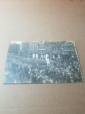 £10.05 • Buy Old Rp Postcard.  Hereford  Marching Soldiers And Public Scene.   L/2797