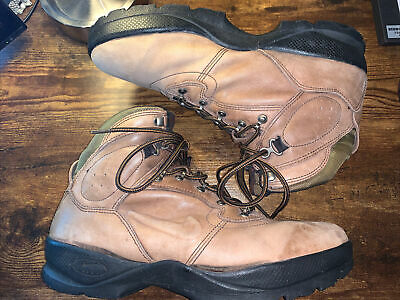 $39.99 • Buy NIKE AIR VTG 90s ACG Brown  Leather Distressed Hiking Boots US Size 13 (960709)
