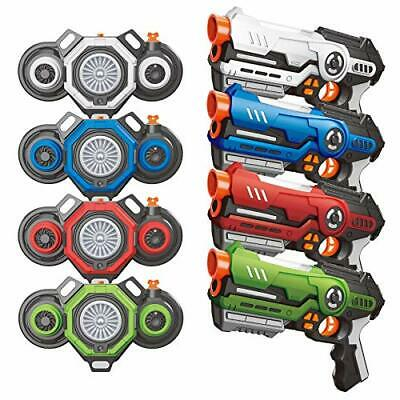 £122.99 • Buy Outdoor Toys Laser Tag Guns With Fog Effect Vests Set Of 4, Outdoor