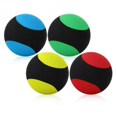 £4.89 • Buy Indestructible Tough Solid Core Rubber Dog Ball Interactive Toys For Swimming~