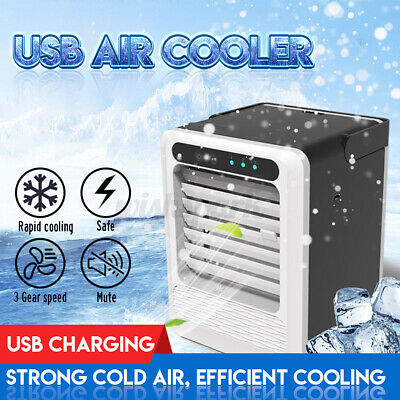 AU35.48 • Buy Portable Mini USB Air Conditioner Personal Cooling Fan Bedroom Air Cooler Fan