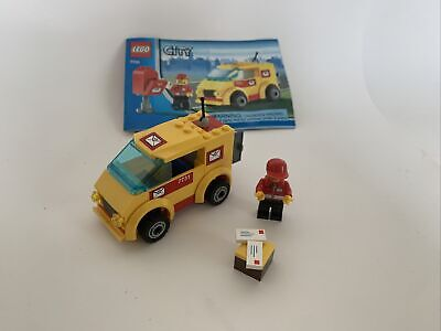 $10 • Buy 7731 Lego City Mail Van With Instructions Fast Shipping With Mailbox