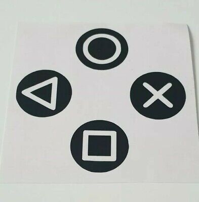 £2.20 • Buy Gaming Controller Buttons Vinyl Stickers Wall Laptop Lightswitch Xbox Playstatio