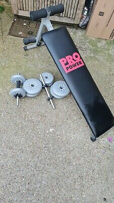 £30 • Buy Weight Set And Bench