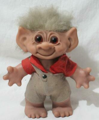 £38.02 • Buy Antique Vintage 1960s Thomas Dam Troll - 9  In Height - Boy In Dunagrees