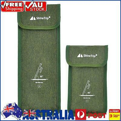 AU9.08 • Buy Outdoor Camping Tent Pegs Nails Storage Bag Tent Hammer Wind Rope Kit Pouch AU