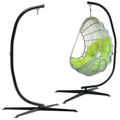 £105.91 • Buy Premium Large Hanging Egg Chair Hammock Stand Relaxing Support Hook 300lbs Stand