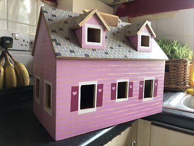 £16.25 • Buy Dolls House - Fold And Go By Melissa & Doug Pink Internal Stairs Windows & Door