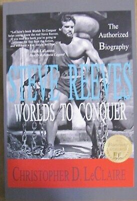 £18.01 • Buy Muscle Builder - Steve Reeves - Worlds To Conquer- Brand New