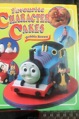 £3.99 • Buy Favourite Character Cakes By Debbie Brown - Hardback Book