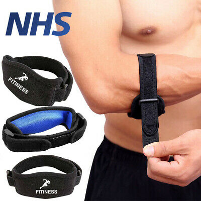 £3.79 • Buy Tennis Elbow Support Brace Strap For Arthritis/Golfers Pain Band With EVA Pad ✅✅