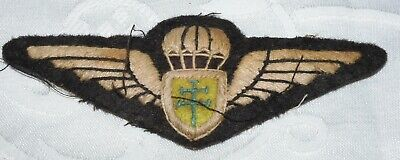 £4.83 • Buy Ww2 Free French Parachute Wings Badge World War Ii Military Airborne Force S