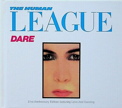 £6.99 • Buy The Human League -Dare -21st Anniversary Book Edition CD (Love & Dancing)