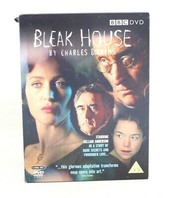 £4.99 • Buy BBC: BLEAK HOUSE By Charles Dickens X3 Disc DVD Box Set - USED T06