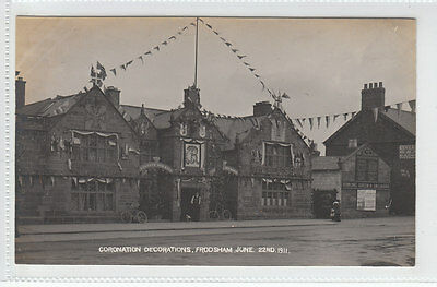 £6.50 • Buy Coronation Decorations The Bear's Paw Frodsham 22nd June 1911 Real Photograph
