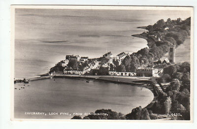£1.50 • Buy Inveraray Loch Fyne From Duniquaich 1936 Real Photograph Valentines A4420 Old PC