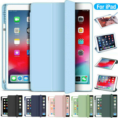 AU19.99 • Buy For IPad 5/6/7/8th Gen Air 2 3 4 Pro 11 Flip Smart Case Cover With Pencil Holder