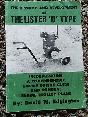 £2.19 • Buy The History & Development Of The Lister D Type Inc Trolley Plans Edgington