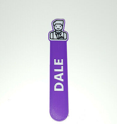 £3.50 • Buy Personalised Barman Icon Bookmark Party Bag Filler Gifts Under 5 Reading Time