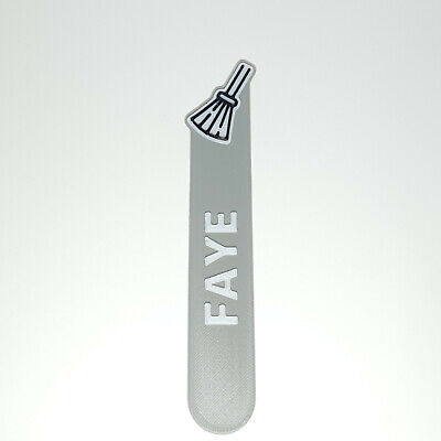 £3.50 • Buy Personalised Broom Icon Bookmark Party Bag Filler Gifts Under 5 Reading Time 3D