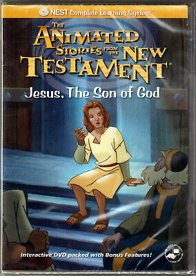 £14.35 • Buy ANIMATED STORIES From The NEW TESTAMENT A JESUS Son Of GOD On DVD Kid NEST Video