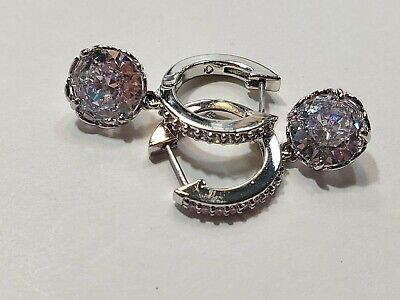 $ CDN18.88 • Buy Kate Spade Earrings Silver Tone New Over Stock With Out Tags
