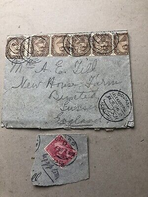 £2.99 • Buy 1906 Egypt Commercial Cover To UK See Photos