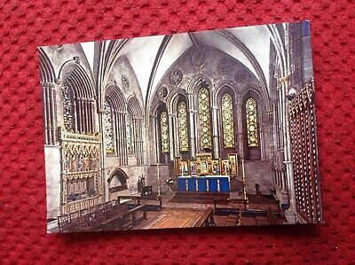 £0.99 • Buy Hereford Cathedral Lady Chapel Herefordshire Postcard L2