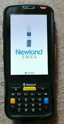 £99 • Buy Newland Handheld Touch Computer Android Mobile Barcode Scanner Excellent