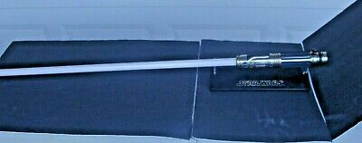 $159.99 • Buy Star Wars Master Replicas 2004 MACE WINDU Force FX Lightsaber Used With Stand