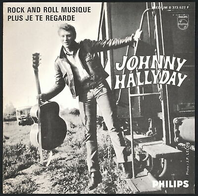 AU159.81 • Buy JOHNNY HALLYDAY - Rock And Roll Musique - 1965 SP 45 Tours Jukebox