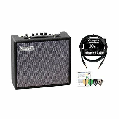 $ CDN88.25 • Buy Sawtooth 10-Watt Electric Guitar Amp With Instrument Cable & Pick Sampler