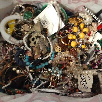 $ CDN48.94 • Buy 13+ LBS POUNDS Jewelry Lot VINTAGE Modern Craft Unique A2