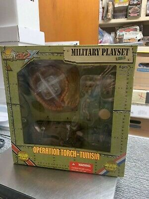 $50 • Buy Ultimate Soldier Military Playset 32X WWII Operation Torch - Tunisia Super Rare!
